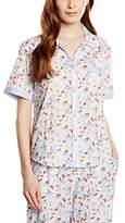 Cyberjammies Women's Patch Work Aviary Pyjama Top,34 (EU)