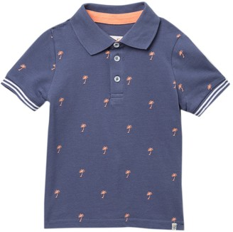Sovereign Code Hazy Palm Tree Polo Shirt (Toddler & Little Kid)