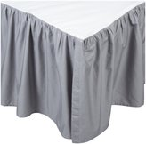 American Baby Company 100% Cotton Percale Crib Dust Ruffle - Gray