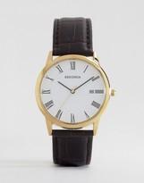 Sekonda Brown Strap Watch 3676.27
