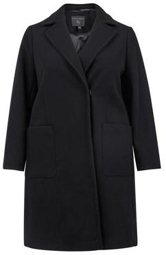 Dorothy Perkins Womens **Dp Curve Black Wrap Coat, Black
