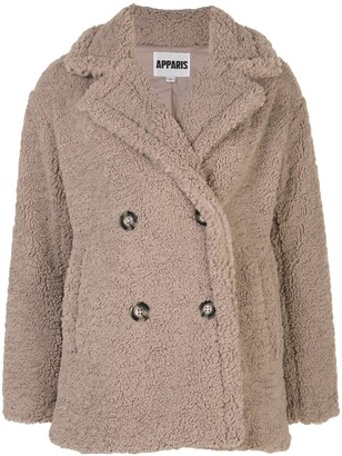 Apparis Faux Fur Coat