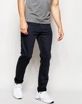 Esprit Coated Black Jeans In Slim Fit - Black