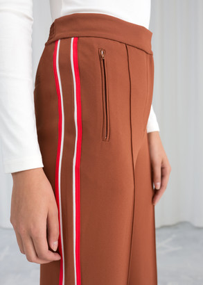 And other stories Racer Stripe Trousers