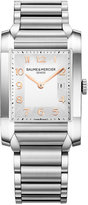 Baume & Mercier Women's Swiss Hampton Stainless Steel Bracelet Watch 27x40mm M0A10020