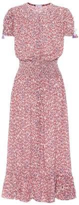 Poupette St Barth Bonnie floral midi dress
