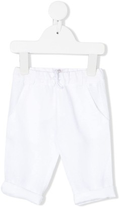 Le Bebé Enfant Drawstring-Waist Tapered Trousers