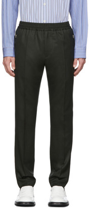 Stella McCartney Green Wool Piet Trousers