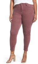 Melissa McCarthy Plus Size Women's Stretch Corduroy Pencil Leg Pants