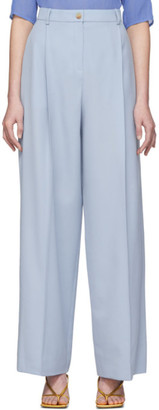 Nina Ricci Blue Long Trousers
