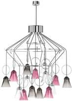 Saint-Louis Crystal Apollo 15-light chandelier