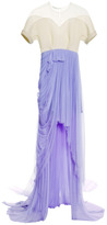DELPOZO Tulle Skirt Gown