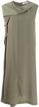 Chalayan Drape Neck Dress