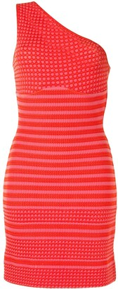 Christian Lacroix Pre-Owned One-Shoulder Knitted Dress
