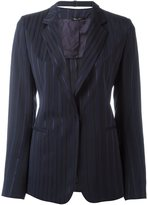 Maison Margiela pinstripe blazer - women - Viscose/Cotton - 38