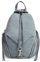 Rebecca Minkoff Medium Julian Nubuck Backpack - Blue