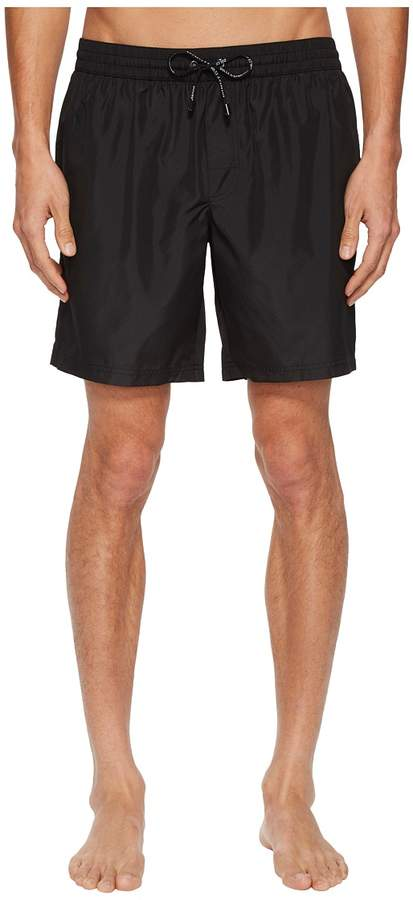 Dolce & Gabbana Mid Length Solid Boxer w/ Bag