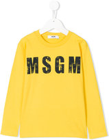 MSGM faded logo top