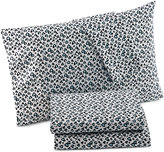 Betsey Johnson Luv Betsey by Wild at Heart Printed Queen Sheet Set