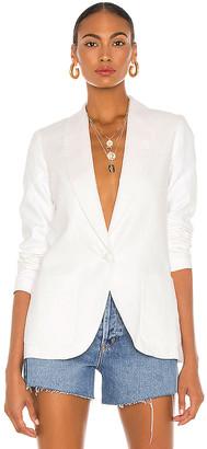 Amanda Uprichard X REVOLVE Linen Shawl Blazer