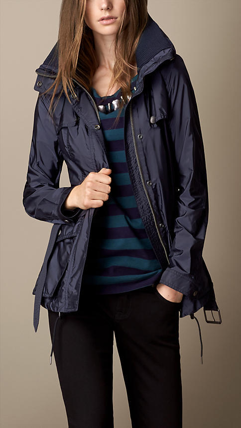 Burberry Technical Funnel Neck Jacket