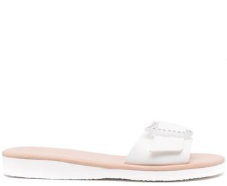 Ancient Greek Sandals crystal-embellished Aglaia sandals