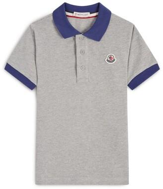 Moncler Kids Cotton Polo Shirt (12-14 Years)