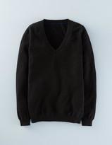 Boden Cashmere V-neck Sweater