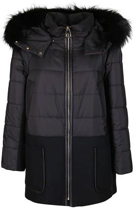Agnona Hooded Padded Coat