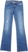 (+) People + PEOPLE Denim pants - Item 42546431