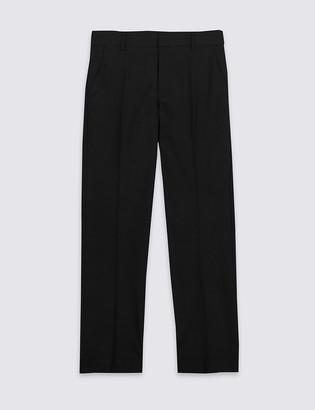 Marks and Spencer Senior Boys' Slim Leg Longer Length Trousers
