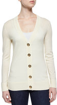 Tory Burch Simone Button-Front Wool Cardigan