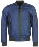 Replay Quilted Bomber Jacket Mens