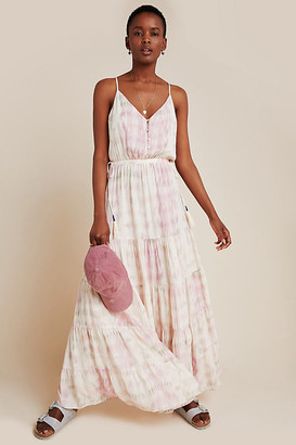 DOLAN Collection Annie Tiered Maxi Dress By Dolan Left Coast in Assorted Size XS