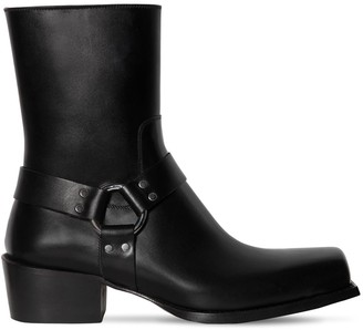 DSQUARED2 50mm Zip-Up Leather Boots
