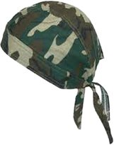 Buy Caps and Hats Woodland Camouflage Doo Rag Skull Cap Camo Durag Bandana Head Wrap