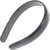 Karina Black Patent Headband
