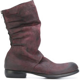 Lost & Found Ria Dunn - distressed boots - men - Calf Leather/Leather - 42