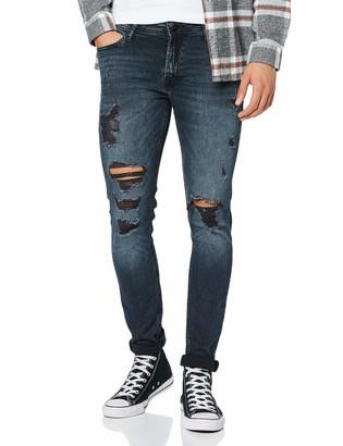Jack and Jones Men's Jjiliam Jjoriginal Am 885 Pcw 50sps Skinny Jeans