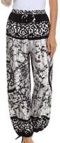 Sakkas 1T Sephora Wide Leg Silky Harem Pants
