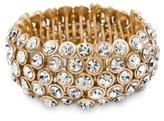 BCBGMAXAZRIA Elastic Stone Bracelet