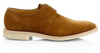 John Lobb Drift Suede Derby Shoes