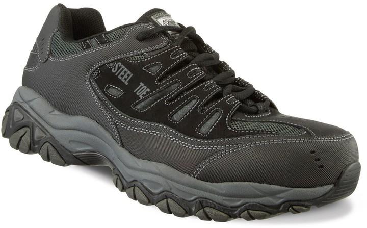 Skechers Men Steel Toe Shoe   Shop the