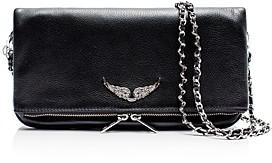 Zadig & Voltaire Rock Leather Shoulder Bag