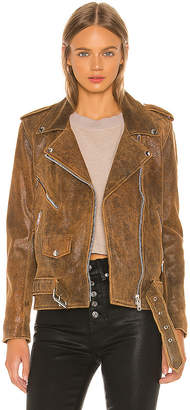 Understated Leather Lightweight Easy Rider Jacket