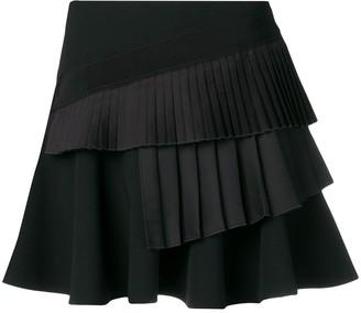 Victoria Victoria Beckham Pleated Mini Skirt