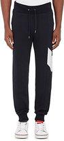 Moncler Gamme Bleu Men's Stripe-Detail Cotton Jogger Pants