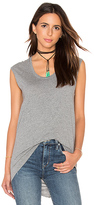 Bobi Light Weight Jersey Hi Low Scoop Neck Tank