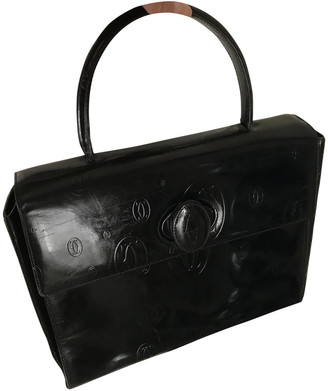 Cartier Navy Patent leather Handbags