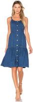 Suno Spaghetti Strap Long Dress in Blue. - size 2 (also in 4)